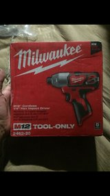 M12 cordless 1/4 hex impact driver in Riverside, California