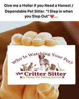 Do you Need a Reliable Pet Sitter? in Warner Robins, Georgia