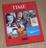 Time Annual 2004 Hard Cover Book w Dust Jacket Time Life Books Time Magazine in Morris, Illinois