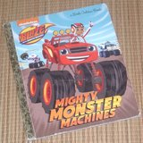 Little Golden Book Blaze and the Mighty Monster Machines in Morris, Illinois