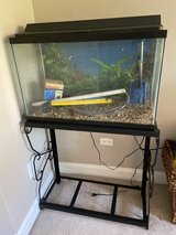 28 Gallon Fish Tank and stand in Bolingbrook, Illinois