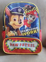 Paw Patrol Pawsome Work Backpack in Plainfield, Illinois