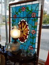 32X52 Leaded Stained Glass Pannel in Fort Leonard Wood, Missouri