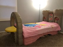 Twin Bed (Step 2 Princess Castle) in Plainfield, Illinois