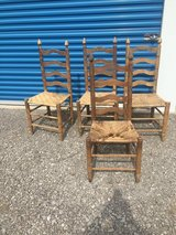 4 ladder   back Chairs in Fort Campbell, Kentucky