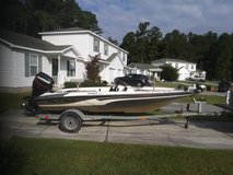 Nitro 640 LX fishing boat and trailer in Camp Lejeune, North Carolina