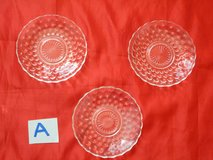 Collection of vintage depression glass - selling as one lot in Tomball, Texas