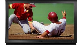 "Sharp 52"" 16:9 AQUOS HD 1080p LCD Television in Tinley Park, Illinois"