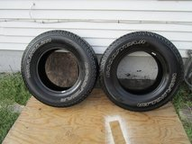 Set Of Rims For Jeep With Tires in Tinley Park, Illinois
