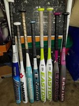 Softball bats in Oswego, Illinois