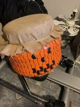 Large Tire Pumpkins w/ Hats in Cherry Point, North Carolina