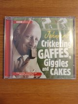 New Johnners Cricketing, Gaffes, Giggles & Cakes Audio Commentary Cd in Lakenheath, UK