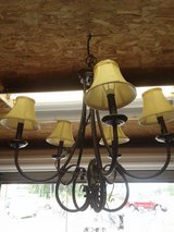 Metal Hanging 5-Light Fixture with Shades #1265-5446 in Camp Lejeune, North Carolina