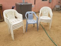 8 Garden Chairs in 29 Palms, California