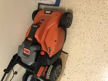 Black & Decker Rechargeable lawnmower in The Woodlands, Texas