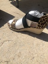 size 9 brand new wedge sandal in The Woodlands, Texas