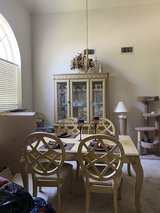 Dining Room Table with China Cabinet in Sugar Land, Texas
