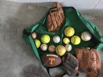 Softballs/baseball/leather mitts in Fort Campbell, Kentucky