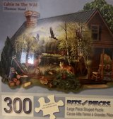 Cabin In The Wild Puzzle in Kingwood, Texas