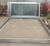 Used Sliding glass door/screen Complete 6x6 foot in Alamogordo, New Mexico