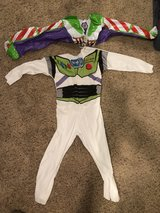 Toy Story Buzz Lightyear Costume with inflatable wings size 4-6 in Joliet, Illinois