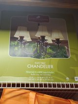 Electric chandelier in Plainfield, Illinois