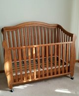 Crib, Toddler bed, Full size bed in Aurora, Illinois