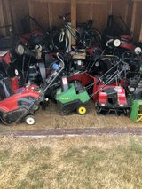 Toro Honda Craftsman snow blowers single and 2 stage models in Naperville, Illinois