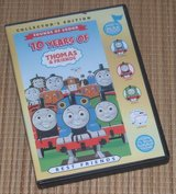 RARE Collectors Edition 10 Years of Thomas the Train Engine & Friends DVD w Play A Sound Case in Bolingbrook, Illinois