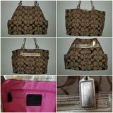 Coach diaper bag or overnight bag in Houston, Texas