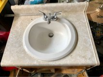 Porcelain Sink/facet - (you can remove from top) in Fort Campbell, Kentucky