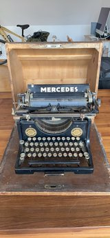 Antique Mercedes Typewriter in Kansas City, Missouri