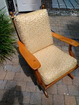 Cushman style platform rocker in Beaufort, South Carolina