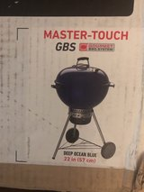 "Weber Master-Touch charcoal grill 22"" new in unopened box in Bolingbrook, Illinois"