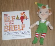 2005 The Elf on the Shelf Hard Cover Book & NEW Plush Elf Doll in Plainfield, Illinois