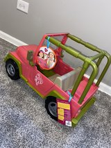 """Toy Jeep for 18"""" doll in Plainfield, Illinois"""