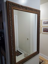 Large framed mirror in Camp Lejeune, North Carolina