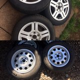 195/65 R15 5x100  205/55 R16 all season 5x112 in Ramstein, Germany