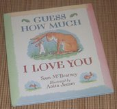 Vintage 1994 Guess How Much I Love You Over Sized Hard Cover Book w Dust Jacket in Yorkville, Illinois