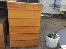 Solid Wood 7 Drawer Dresser in 29 Palms, California