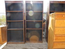 """3- 6' tall by 30"""" Book Shelves in Yucca Valley, California"""