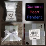 Diamond Heart Pendant in Nellis AFB, Nevada