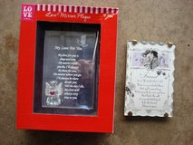 LOVE MIRROR PLAQUE & FRIENDS POEM PLAQUE in Naperville, Illinois