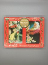 Collectible Coke Tin with decks of cards in Fairfield, California