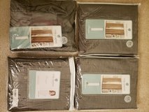 4 brand new curtains in original packing in Naperville, Illinois
