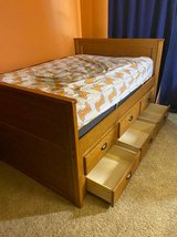 Captain's Bed with Trundle/Storage - $300 in Fort Campbell, Kentucky