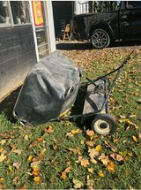 Lawn sweeper in Fort Campbell, Kentucky
