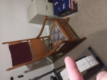 Old rocking chair in Oswego, Illinois