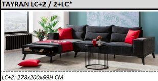 United Furniture - Tayran Sectional in Antharacite including delivery in Grafenwoehr, GE