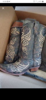 Boots. (Only worn once) in Lawton, Oklahoma